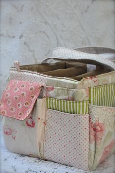 Annabelle Craft Tote ~ Side View