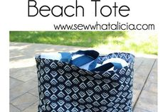 Tutorial: Simple beach tote