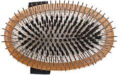 The Hybrid Groomer   Patented and Award Winning Pet Brush   100% Premium Natural Bristle + Alloy Pin Grooming Brush   Large Palm   Natural Rubber Cushion   Natural Bamboo Handle   Bass Brushes A5-DB #doggrooming