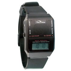 mens chrome braille and talking watch exp band watches and band tel time vii spanish talking watch