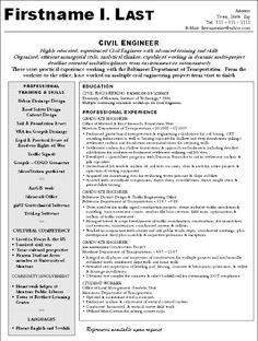 Construction Engineering Sample Resume Civil Engineering Student Resume  Civil Engineering Student