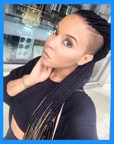 Braided Hairstyles With Shaved Sides | Liked Hairstyles