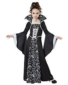 Renaissance Costume Medieval Renaissance Kid'S Queen Of Princess Dress Outfit Gothic Vampire Cosplay Medieval Dress White XL – Dress Home Scarlet Witch Halloween Costume, Girls Vampire Costume, Diy Halloween Costumes For Kids, Vampire Girls, Gothic Vampire, Vampire Costumes For Kids, Halloween 2019, Halloween Cosplay, Halloween Dresses For Girls