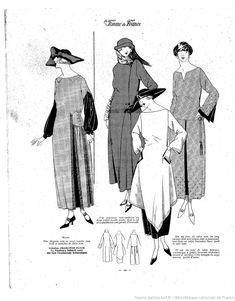 Les Modes de la femme de France | 1921-10-23 | Gallica
