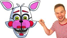 How to Draw Funtime Foxy from FNaF Sister Location