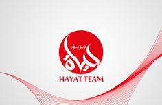 hayat team logo arabic style