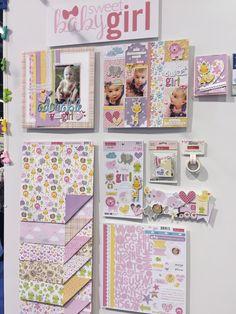 Bella Blvd Cute Baby Girl Collection CHA Winter 2016 - Scrapbook.com