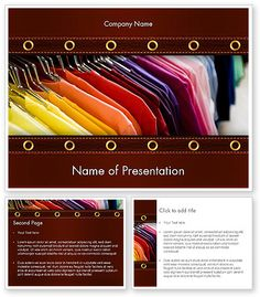 http://www.poweredtemplate.com/11565/0/index.html Colored T-shirts PowerPoint Template