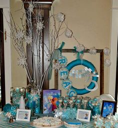 DISNEY'S FROZEN Birthday Party Ideas | Photo 25 of 36 | Catch My Party