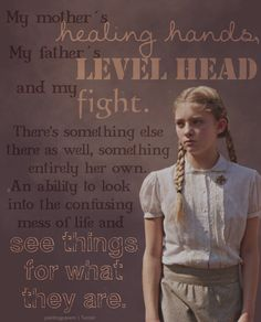 Prim.... I love her.... She helped her family and her sister in any ways she could..... That is something to admire....