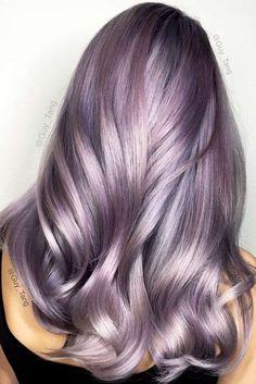 Nouvelle Tendance Coiffures Pour Femme 2017 / 2018 Les cheveux en pastel sont tous en colère en ce moment. Cliquez pour voir les manières les plus modernes de dy
