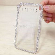 Diamond Case Cover For Samsung Galaxy Core 2 G355H S3 Core Plus Grand 2 GRAND NEO Grand Win For Galaxy Mega 5.8 Bling Clear Case