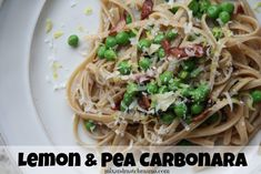 Lemon & Pea Carbonar