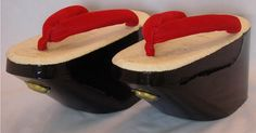 During the summer months, maiko will wear black-lacquered okobo.