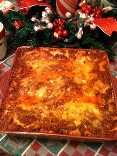 This is the absolute BEST lasagna I have ever made. And it is very easy. There is enough to feed a small army!! Sweet Tea and Cornbread: Easy Peasy Lasagna!