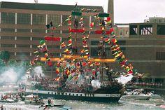 Avast! Gasparilla Pirate Fest in Tampa Bay