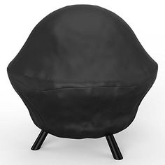 Elite Flame 30 Inch Sphere Fire Ball Water Resistant Fire Pit Black Cover