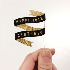 Birthday Banner #sandidoodles #handmade #birthday