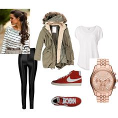 """""""Zoella inspired outfit fall 2013""""  love everything except the shoes and watch"""