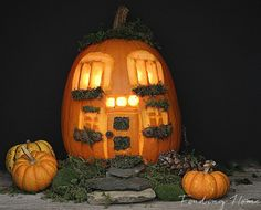 8 New Ways to Carve a Pumpkin http://www.goodhousekeeping.com/holidays/halloween-ideas/unique-pumpkin-carving-ideas