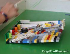 Build a Lego Pinball Game - Frugal Fun For Boys