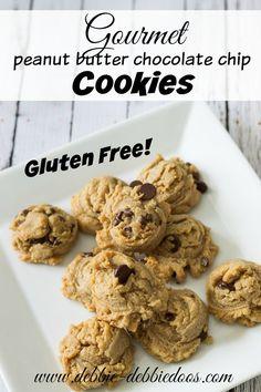 Gluten free gourmet peanut butter chocolate cookies