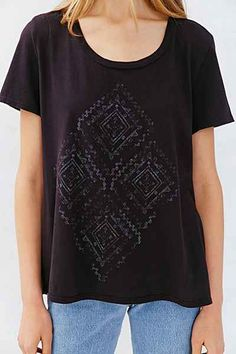 Truly Madly Deeply Wanderlust Scoop-Neck Tee - Urban Outfitters