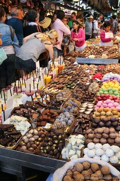 La Boqueria Market in Barcelona is the city's most famous food market, and one of the best in Spain!