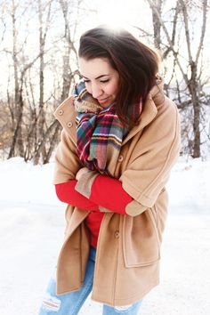 Northern Style Exposure, the blanket scarf