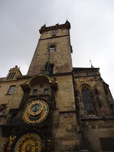 Prague - the famous asymmetrical clock, more beautiful in person Travel Ideas, Travel Guide, Very Nice Pic, Places Of Interest, Oclock, Prague, Big Ben, Cities, Beautiful Places