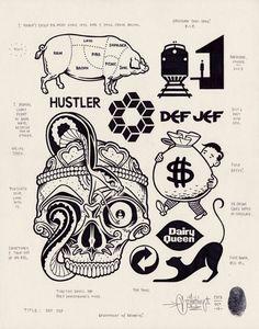 Mike Giant – Modern Hieroglyphics Solo Show