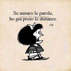 Mafalda - se misuro le parole ...