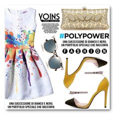 """YOINS"" by angelstar92 ❤ liked on Polyvore featuring Fendi and PolyPower"