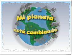 """Juego """"Mi planeta está cambiando"""""""