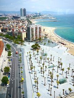 #Barceloneta #beach in #Barcelona !