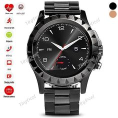 No.1 Sun S2 Circular Dial Smart Watch Stainless Steel Watch Band Heart Rate Monitor Tracker for IOS / Android WWT-399822