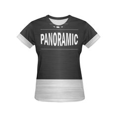 PANORAMIC (White) Women's All Over Print T-Shirt: Model T40  Your Price: $28.29  Shop All Ensemble Departments @ https://ensembleorl.com/pages/shop-by-department  Or Buy Now at https://ensembleorl.com/products/panoramic-white-womens-all-over-print-t-shirt-model-t40