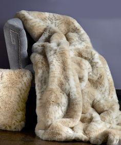7287c56da957 Lynx Faux Fur Limited Edition Throw Modern Throws, Faux Fur Blanket, Faux  Fur Throw