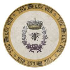 Image result for queen bee dinner plates