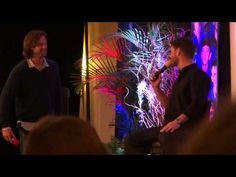 Jensen and Jared convention panel at NJCon 2013.  Jensen talks about cologne/perfume (Pin now watch later)