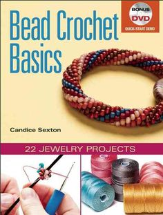 Bead crochet produces lengths of lovely, rope-like beadwork that can be used in a variety of jewelry and accessories. The only book-and-DVD package to introduce the fundamentals of bead crochet, Bead
