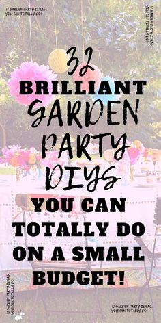 32 Stunning Garden Party Ideas You Can Do On A Tiny Budget These summer party ideas will give you all the inspiration you need if you re party planning this year summerparty gardenparty outdoorparty partydecorations # Garden Party Decorations, Garden Parties, Outdoor Parties, Summer Parties, Boho Garden Party, Summer Party Themes, Halloween Decorations, 30th Birthday Ideas For Women, 30th Birthday Parties