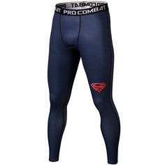LF Blue BJJ Spats The new LF Fightwear Spats feature a construction for a more compressed and athletic fit. All artwork and graphics are sublimated into the material so will never get cracking or peeling. It is printed for long lasting colour durability. Running Pants, Sport Pants, Leggings Fashion, Fashion Pants, Men Fashion, Tight Leggings, Leggings Are Not Pants, Superman Workout, Mens Compression Pants