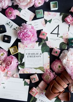 Minted x The Mrs Box Styled Wedding Themes | Julep