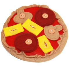 Pizza Button Manipulative- so great for getting little fingers moving!