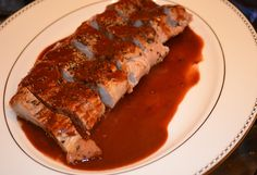 Pork Tenderloin au Poivre