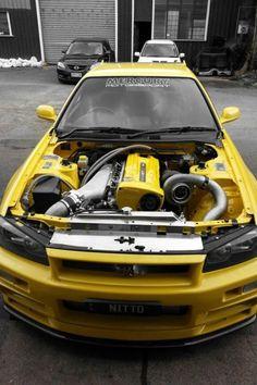 That turboe doe :) sick engine bay