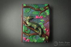 Nectar Dragon Journal by Mandarin Duck http://www.mandarin-duck.com/p/blog-page_18.html Polymer Clay