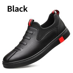 BIMUDUIYU Black Men's leather casual shoes Fashion Breathable Sneakers Comfortable Loafers Men Shoes Flat Shoes BIMUDUIYU Black Men's leather casual shoes Fashion Breathable Sneakers Comfortable Loafers Men Shoes Flat Shoes Dropshipping Flat Shoes Outfit, Men's Shoes, Shoes Men, Shoes Sneakers, Casual Sneakers, Casual Shoes, Men Casual, Mens Fashion Shoes, Leather Fashion