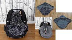 """Decke für Babyschale """"Romy"""", Schnittmuster und Nähanleitung - 2 Größen - Schnittmuster und Nähanleitungen bei Makerist"""